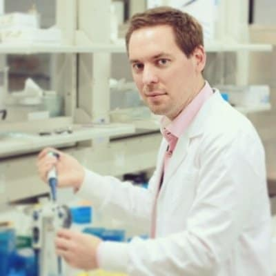 Dr Andrew Burgess Microscopy and Cytometry Manager